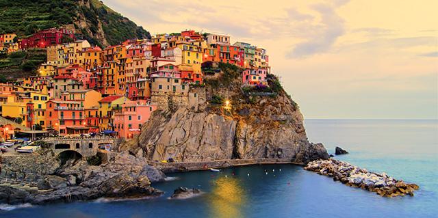 Cinque Terre in Northern Italy