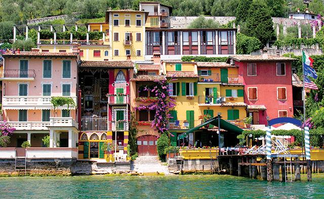 Lake Orta in Northern Italy