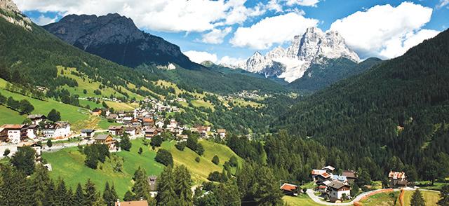 Bolzano in Northern Italy