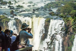 Iguassu Falls in Brazil and Argentina