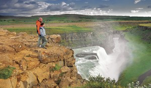 Pay a visit to Gullfoss Waterfall in Southwest Iceland
