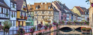 Petite France neighborhood in Strasbourg, France