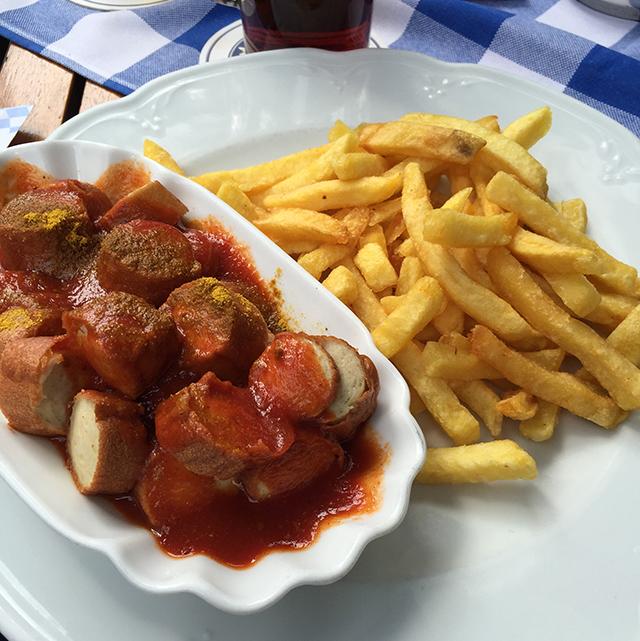 Currywurst in Berlin, Germany