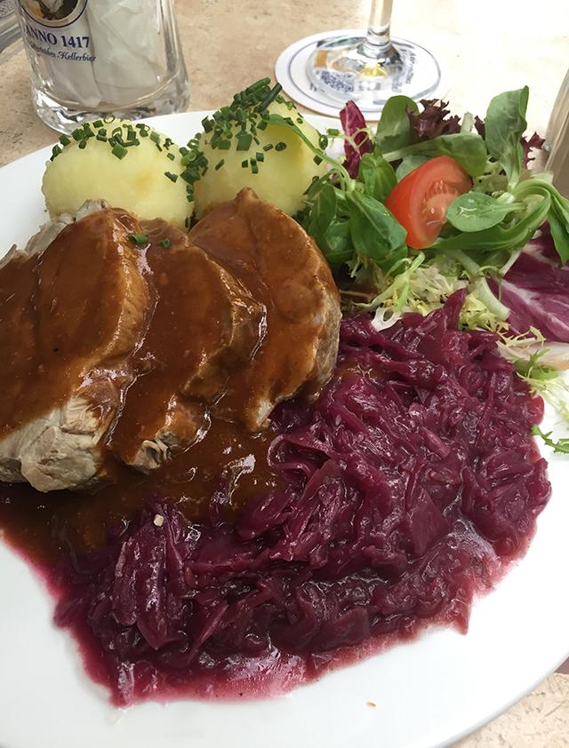 Dinner in Savignyplatz in Berlin, Germany