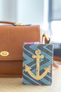 DIY passport cover