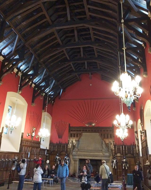 Great Hall in Edinburgh Castle, Scotland