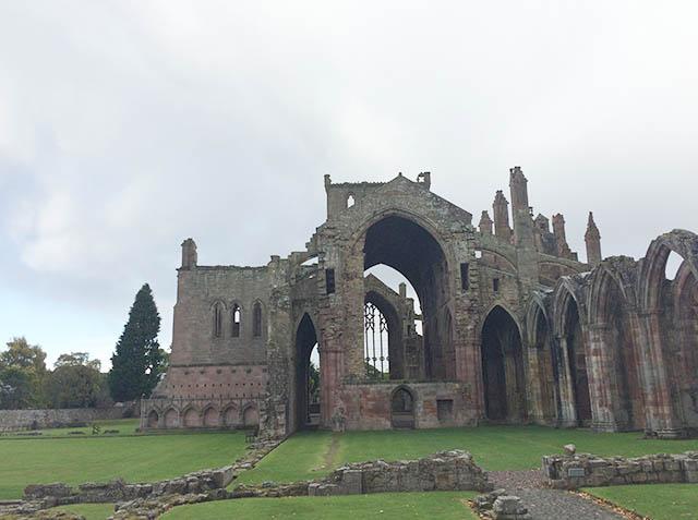 Melrose Abbey, Scotland