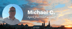 Celebrate travel: Our April free tour winner