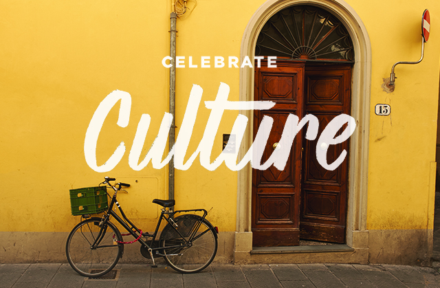 Celebrate culture by learning to live like a local