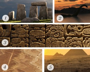 Mysterious sites