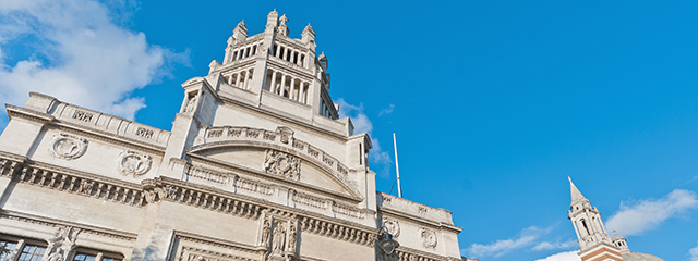 Victoria & Albert Museum in London, England