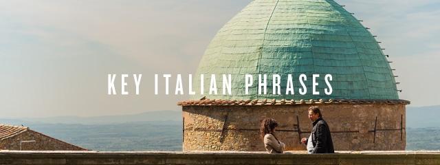 Key Italian phrases