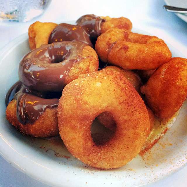 Loukoumades in Athens, Greece