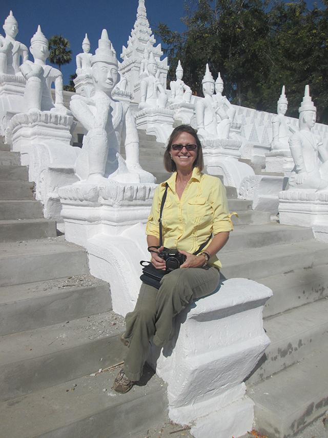 Katherine in Myanmar