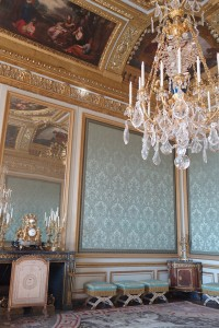 Nobles Salon in palace of Versailles, France