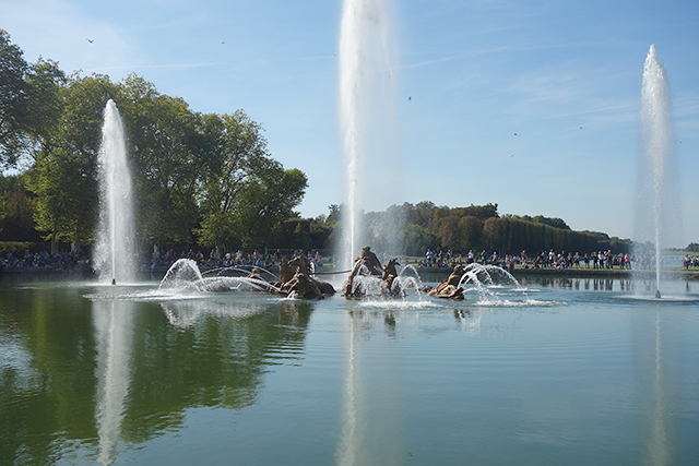 Fountain of Apollo in Versailles France