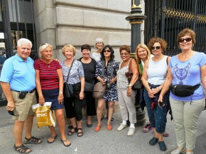 Nancy and her group in Portugal, Spain & Morocco