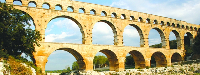 Pont du Gard in Southern France