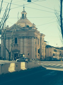 Local church in Rome, Italy