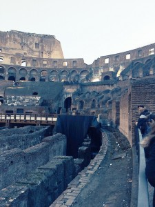 Roman Colosseum in Italy
