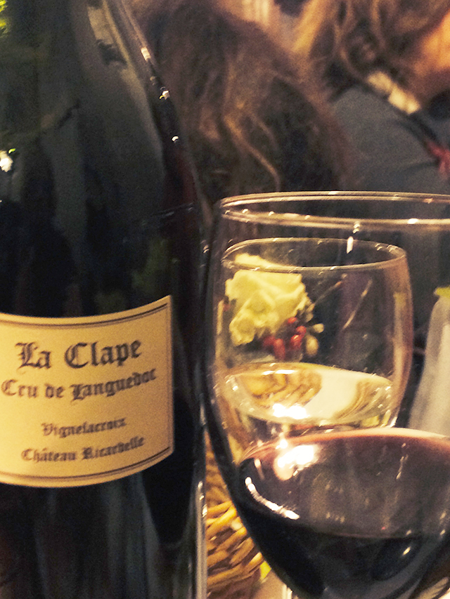 Wine from Languedoc in Paris, France