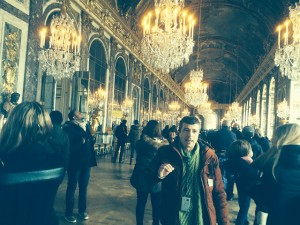 Hall of Mirros in Versailles