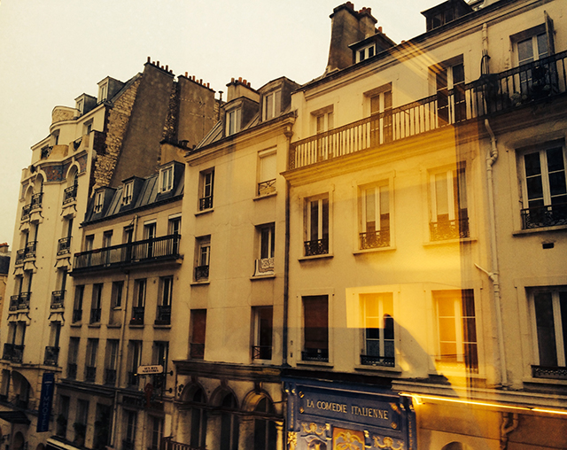 Scenery in Paris, France