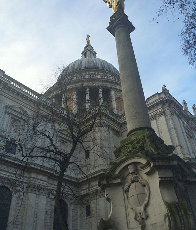 St. Paul's in London England