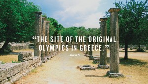 Olympics in Greece