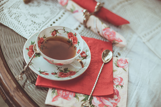 History of British tea in London, England