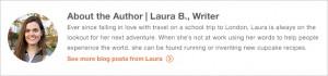 Laura author banner