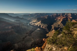 Admiring the incredible Grand Canyon