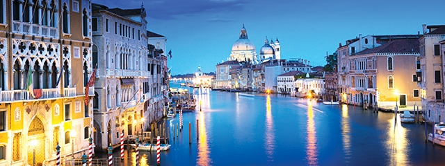 Paris, Venice & Vienna