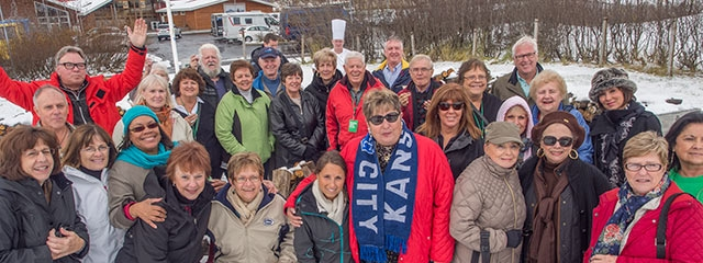 Group Coordinators on Convention Tour in Iceland