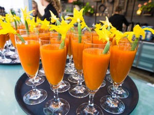 Colorful drinks on the Convention Tour