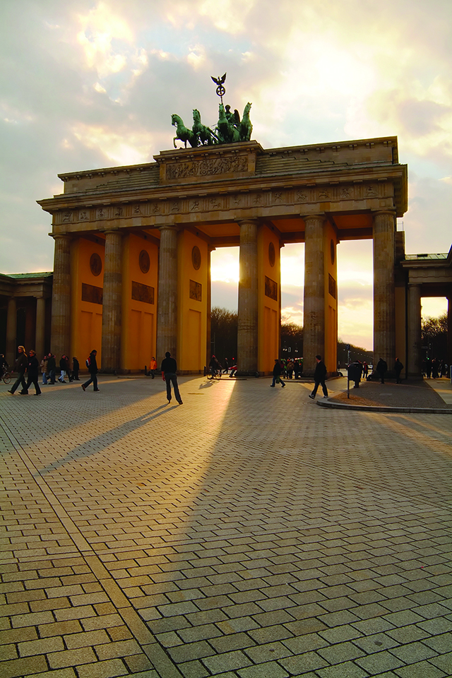 Bradenburg Gate in Berlin, Germany