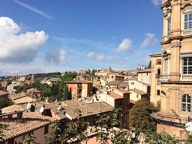 View of Perugia, Italy