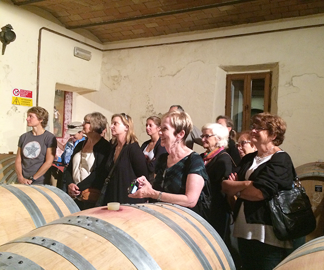 Group at Casato Prime Donna winery
