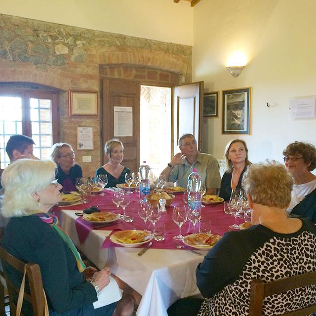 Group at Casato Prime Donne