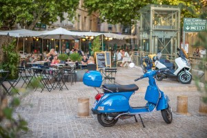 Outdoor cafes make for a picture-perfect setting in Provence