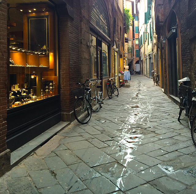 Streets of Lucca, Italy