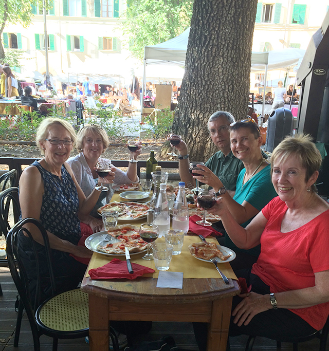 Lunch with the locals in Florence, Italy