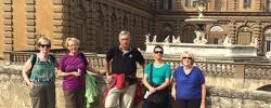 Follow Verna on tour: Days 1 & 2 — Florence