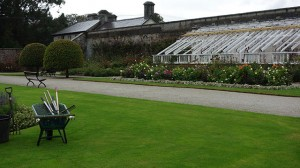 Gardens at Powerscourt in Glendalough, County Wicklow Ireland