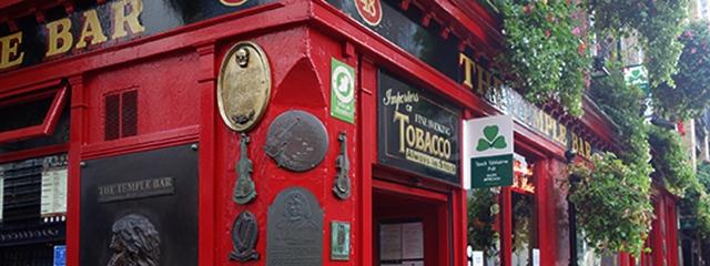 Temple Bar in Dublin Ireland