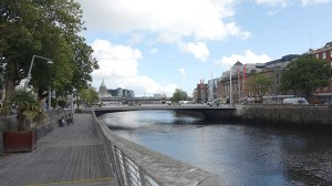 River Liffey in Dublin, Ireland