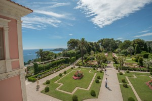 Villa Ephrussi is known for its majestic gardens
