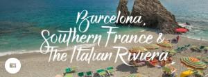 Jimmy in Barcelona, Southern France & the Italian Riviera
