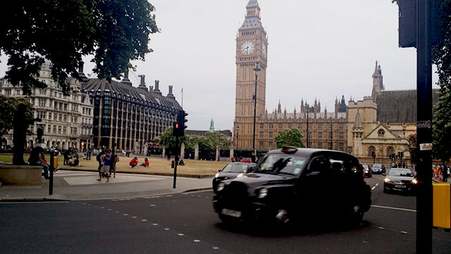 Big Ben and Westminster in London, England