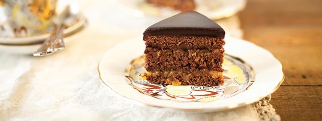 Sachertorte chocolate cake, Austria